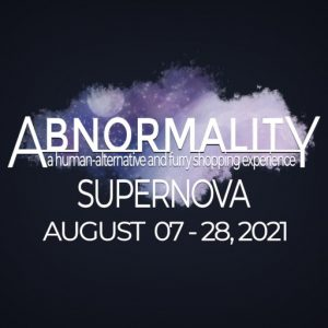 The ABNORMALITY SUPERNOVA AUGUST 2021 Sign