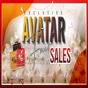 The AVATAR FAIR SALES Logo
