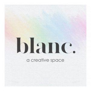 The blanc. event logo