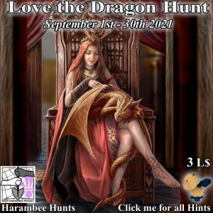 The Harambee Love the Dragon Hunt September 2021 Sign