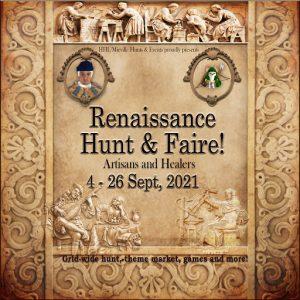 The Renaissance Faire September 2021 Sign