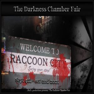 The TDCF Welcome to Raccoon City September 2021 Sign