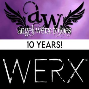 The WERX 10th Anniversary August 2021 Sign