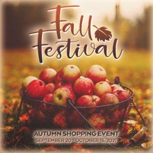 The Fall Festival September 2021 Sign