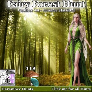The Harambee Fairy Forest Hunt October 2021 Sign