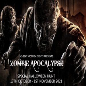 The CMH Zombie Apocalypse October 2021 Sign