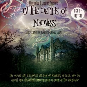 The Chronicles and Legends In the depths of madness October 2021 Sign