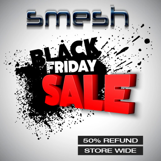 The smesh Black Friday 2021 Sign